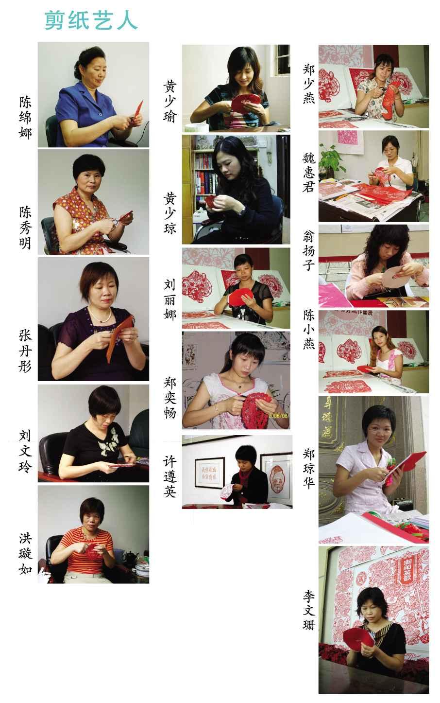 圆形剪纸图案画法步骤图片
